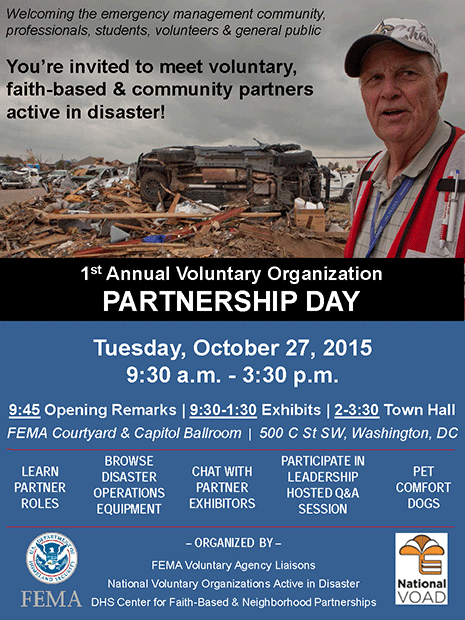 1st Annual Voluntary Organization Partnership Day