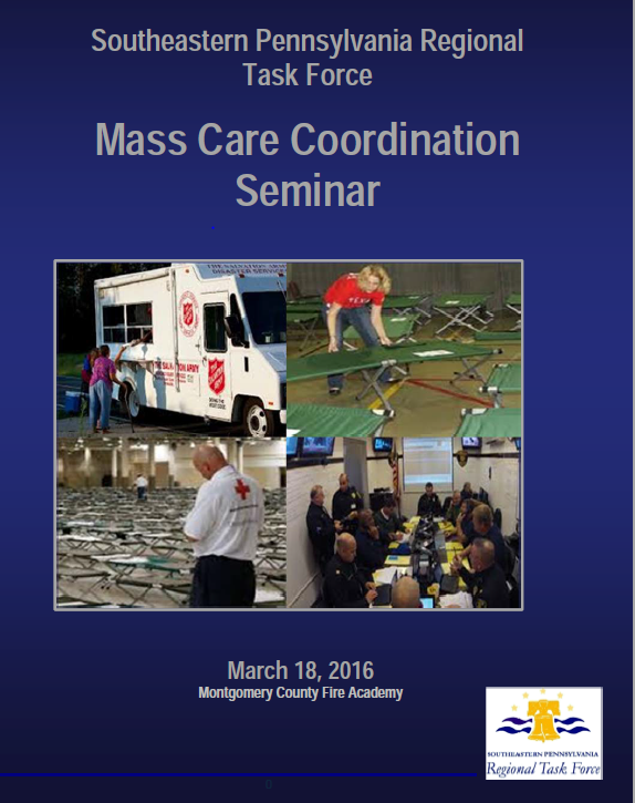 Mass Care Seminar  in Conshohocken, Pennsylvania