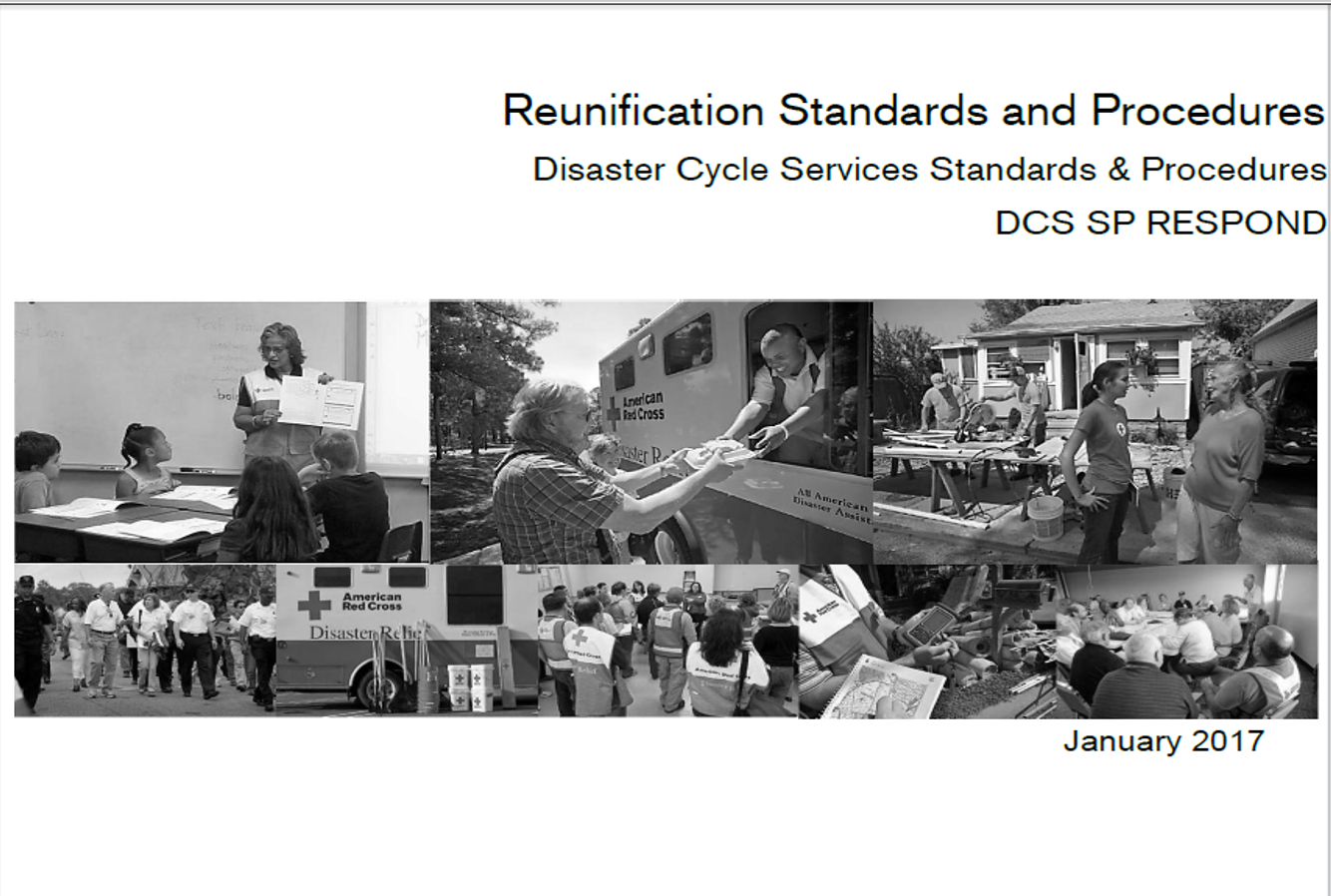 American Red Cross releases new Reunification doctrine