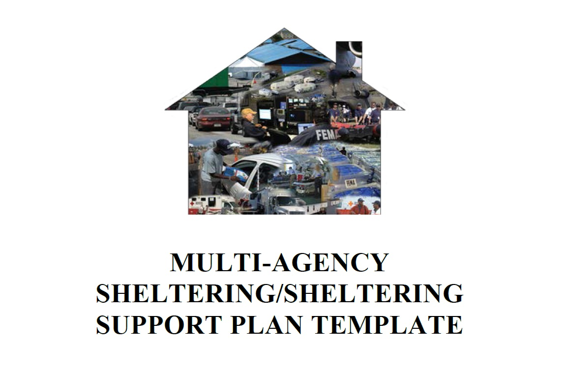 the purpose of the multi agency shelteringsheltering support plan template maspt is to supplement a jurisdictions emergency operations plan andor mass