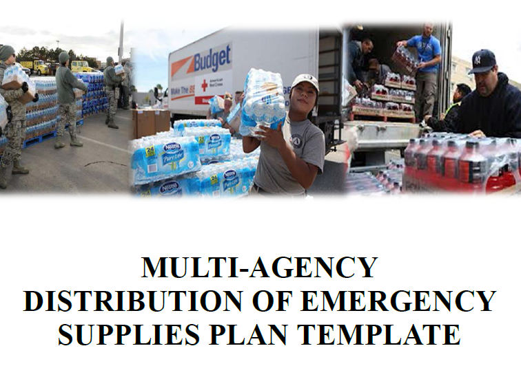 the purpose of the multi agency distribution of emergency supplies plan template is to supplement a jurisdictions emergency operations plan andor mass